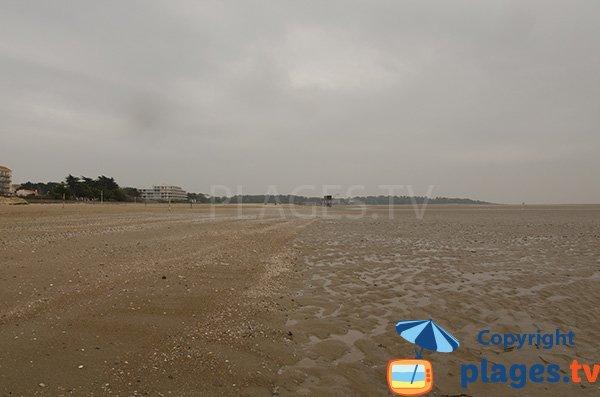 Plage des Pins à marée basse - St Brevin les Pins
