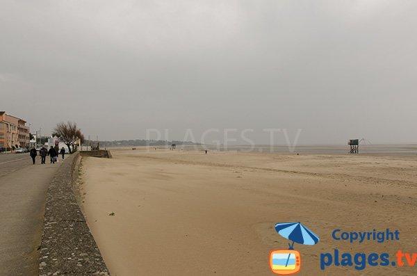 Photo de la plage des Pins à St Brevin les Pins
