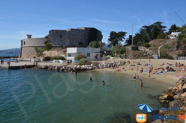 Plage de la Tour Royale de Toulon