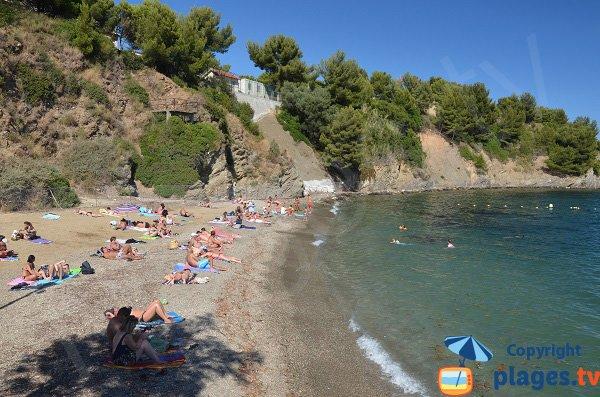 Anse de Pipady à Toulon