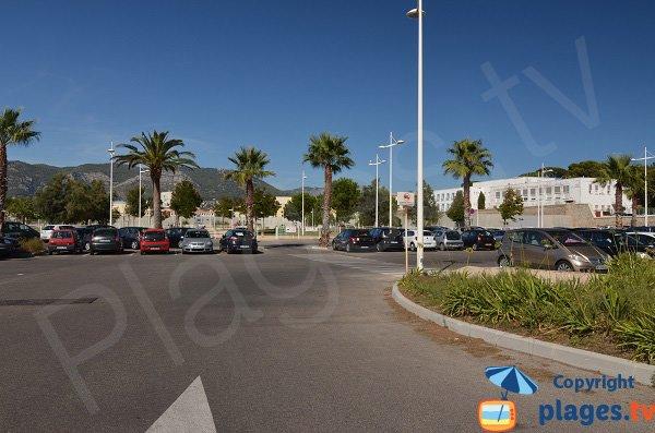 Parking de la plage de Pipady - Toulon