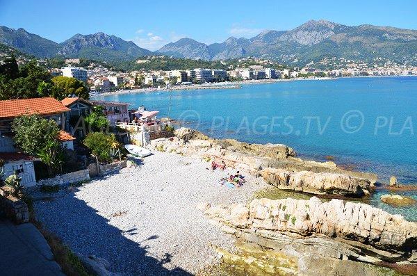 Stone beach near Cap Martin - Roquebrune-Cap-Martin