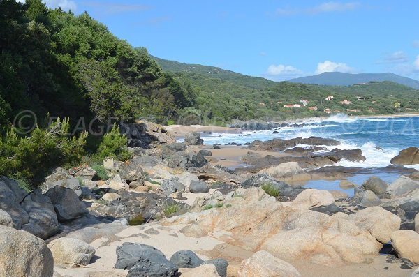 Crique secrète à Usciapa en Corse - Olmeto-Plage