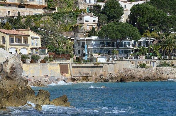 Plage des Pissarelles vue depuis la mer