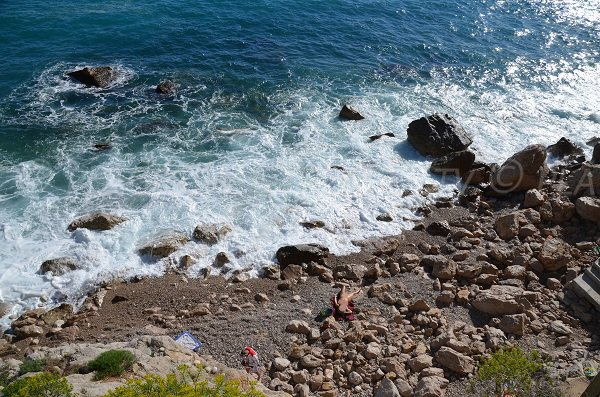 Foto spiaggia delle Pissarelles a Cap d'Ail - Francia