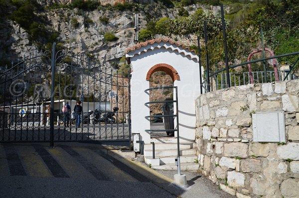 Tor zum Strand Pissarelles