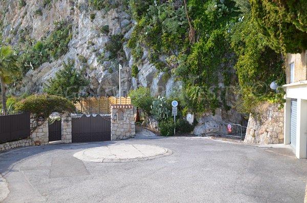 Accesso spiaggia Pissarelles - Francia