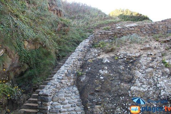Access to Pissotte beach - Saint Cast le guildo