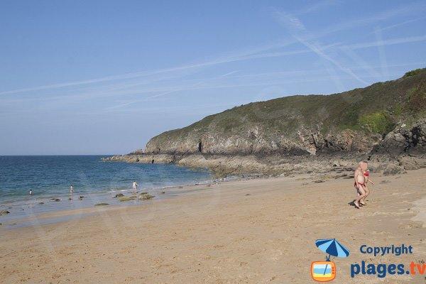 Pissotte beach - St Cast Guildo