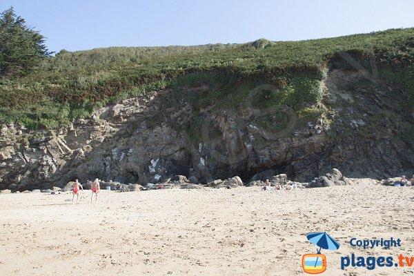 Falaises autour de la plage de Pissotte