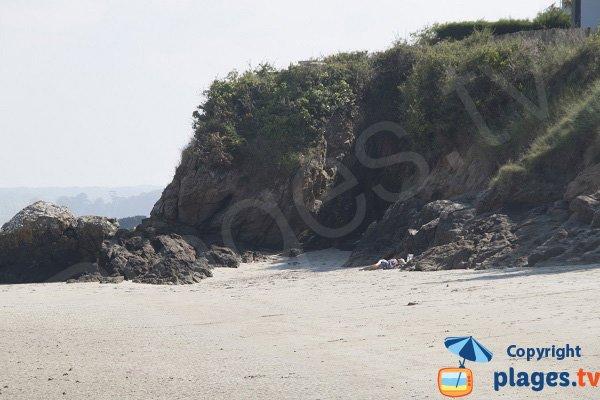 Rocks on Pissotte beach - St Jacut