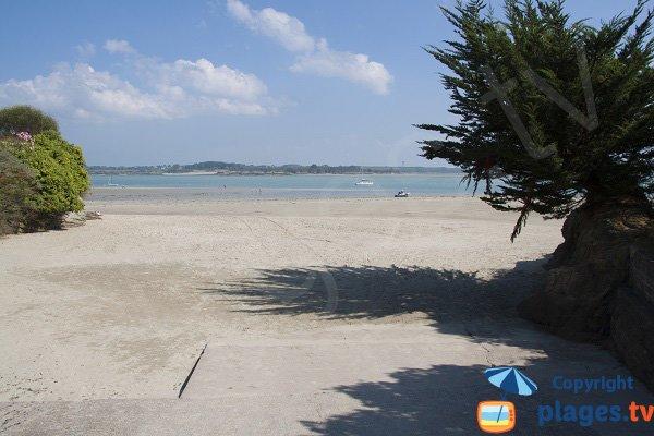 Photo of Pissotte beach in Saint Jacut de la Mer in France