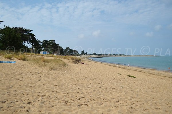 Photo of Planginot beach in La Brée les Bains in France