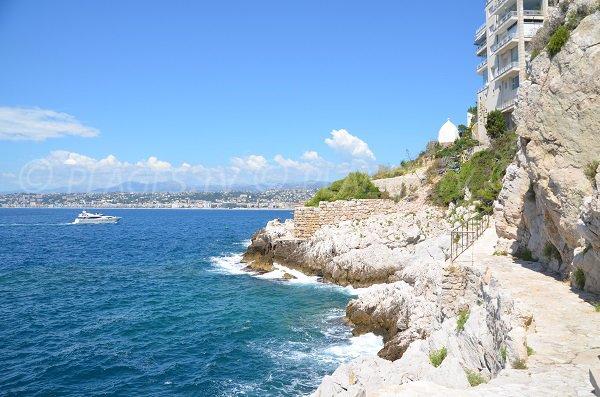 Sentier du littoral autour du Cap de Nice