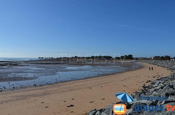 Photo de la plage des Platères à Angoulins