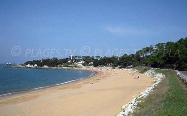 Plage de sable de Platin à Saint Palais sur Mer
