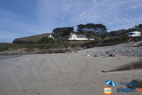 Environment of the beach of St Jean du Doigt - Brittany