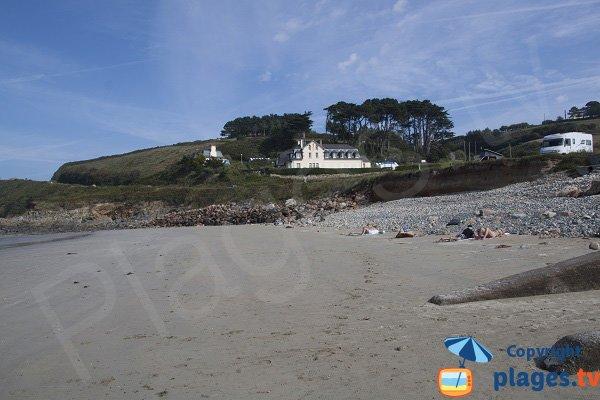 Environnement de la plage de St Jean du Doigt - Bretagne