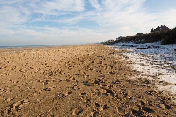 Beach of Point du Jour in Merville-Franceville (Calvados)