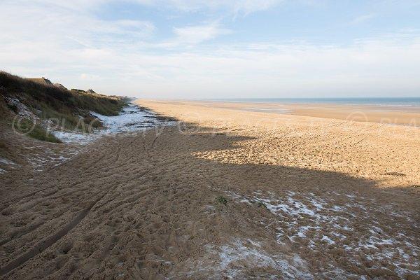 Photo of Point du Jour beach in Merville-Franceville - Normandy