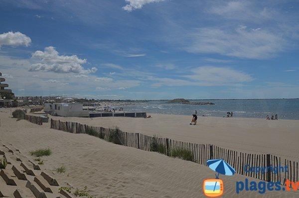plage privée herault