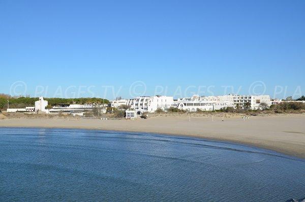 Spiaggia presso il centro termale di La Grande Motte