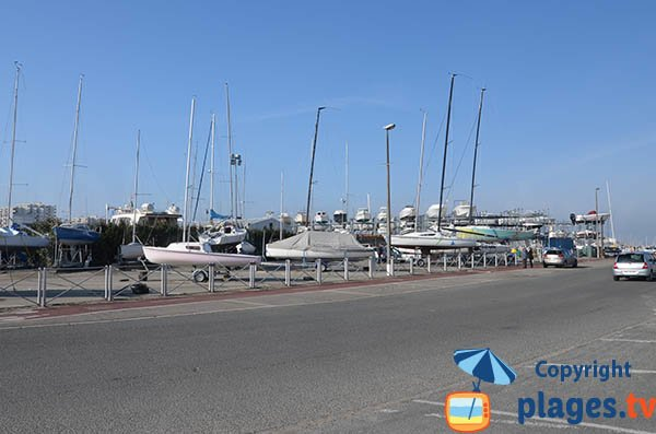 Plage et port de plaisance d'Arcachon