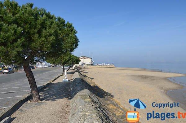 Photo de la plage de la Pointe de l'Aiguillon à Arcachon
