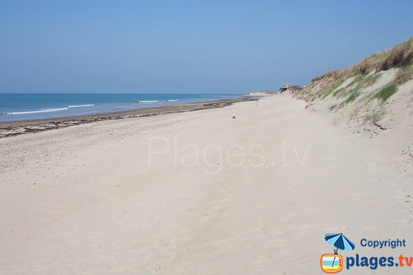 Photo of Pointe Banc beach in St Germain sur Ay - Normandy
