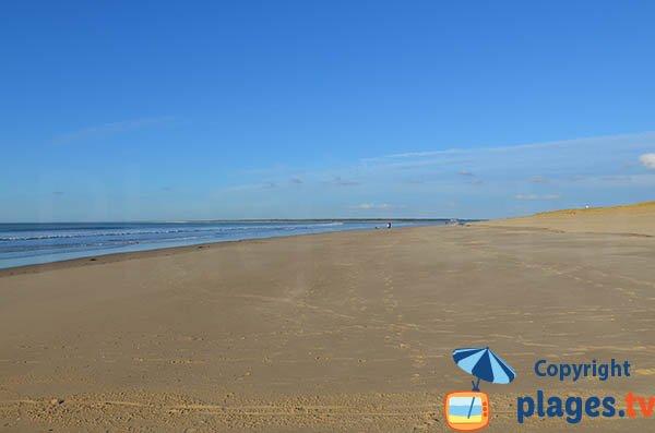 Photo de la plage de la Pointe Espagnole - La Tremblade