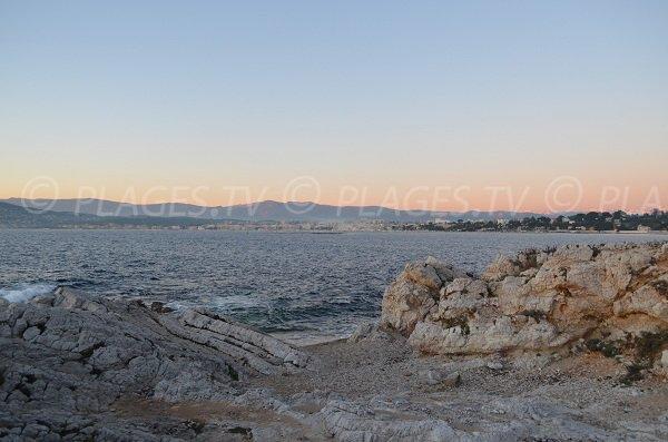 Sunset in Cap d'Antibes