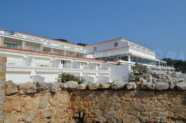 Restaurant Eden Roc in Cap d'Antibes in France