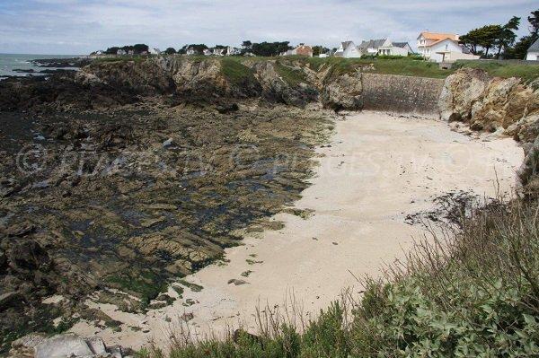 Spiaggia della Punta di Penchâteau a Le Pouliguen