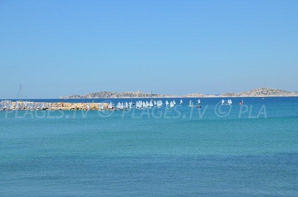 Voile à Pointe Rouge à Marseille