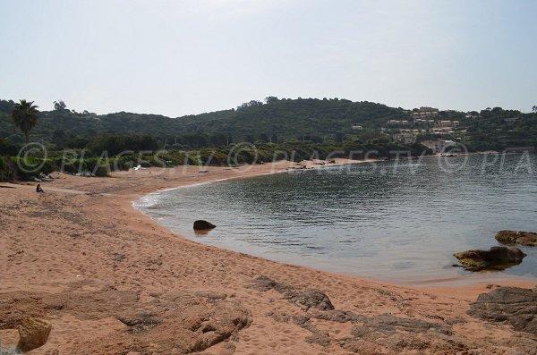 Sofitel beach in Porticcio
