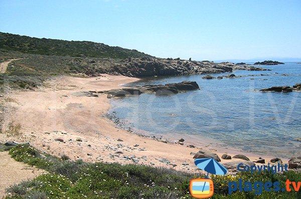 Photo de la plage de la pointe de Ventilegne à Figari