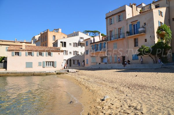 Photo de l'anse de la Ponche - Saint Tropez