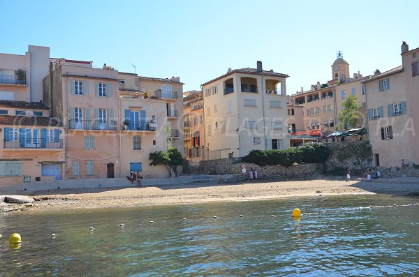 Ponche beach in Saint Tropez
