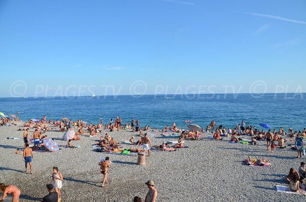 Photo of the Ponchette beach in Nice