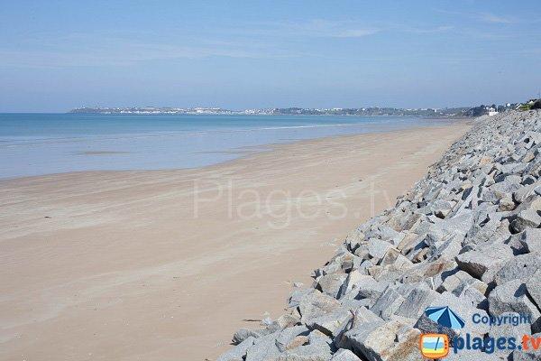 Photo de la plage du Pont Bleu de Jullouville