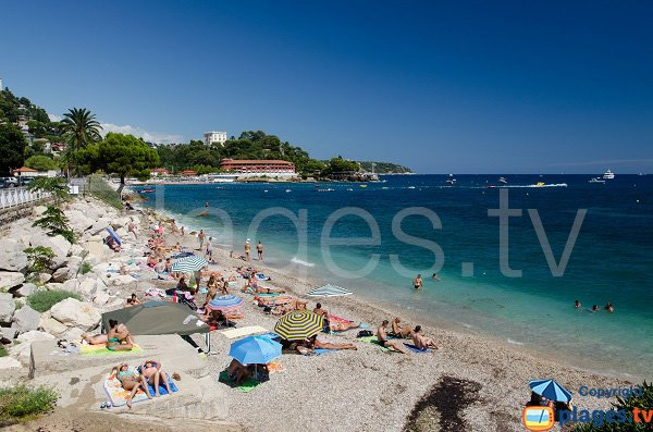 Pont de Fer beach in summer - Monaco