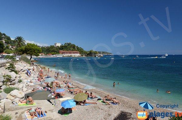 Pont de Fer beach in summer - Roquebrune-Cap-Martin