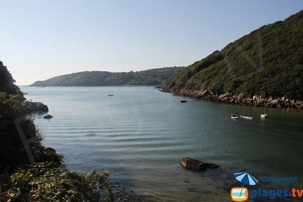 Baie de la Vierge - Le Yaudet