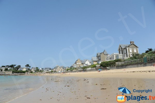 Beach of the Pont in Saint Malo