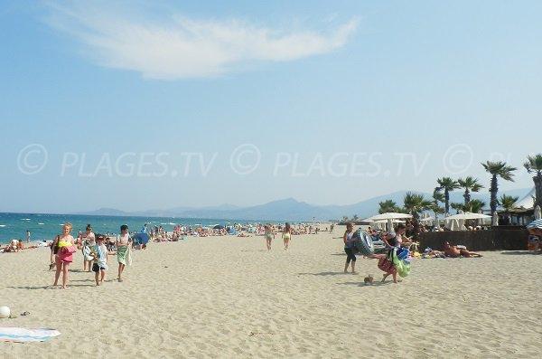 Spiaggia privata a St Cyprien - Ponte Tournant