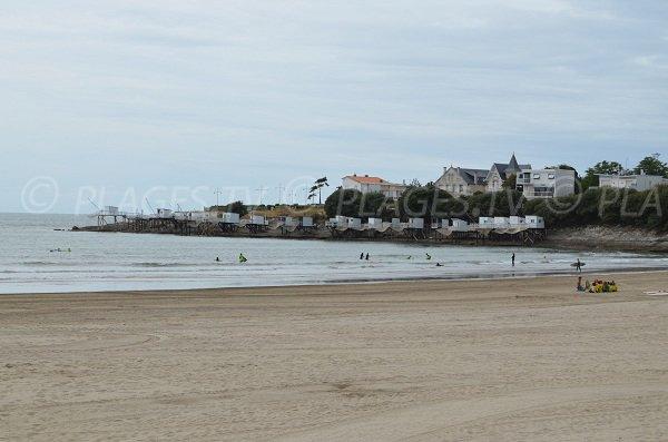 La plage de Pontaillac est un spot de surf de Royan