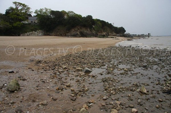 Porcé beach in St Nazaire West