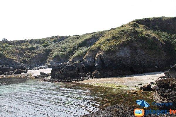 Criques de Porh Ized à Sauzon - Belle Ile en Mer