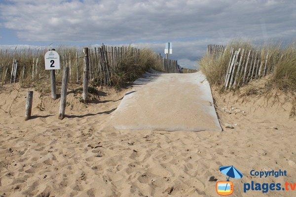 Access to Porh Kerhouet beach - Erdeven