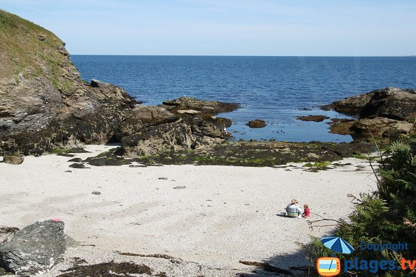 Photo of Porh Kerzo cove in Belle Ile en Mer - Sauzon